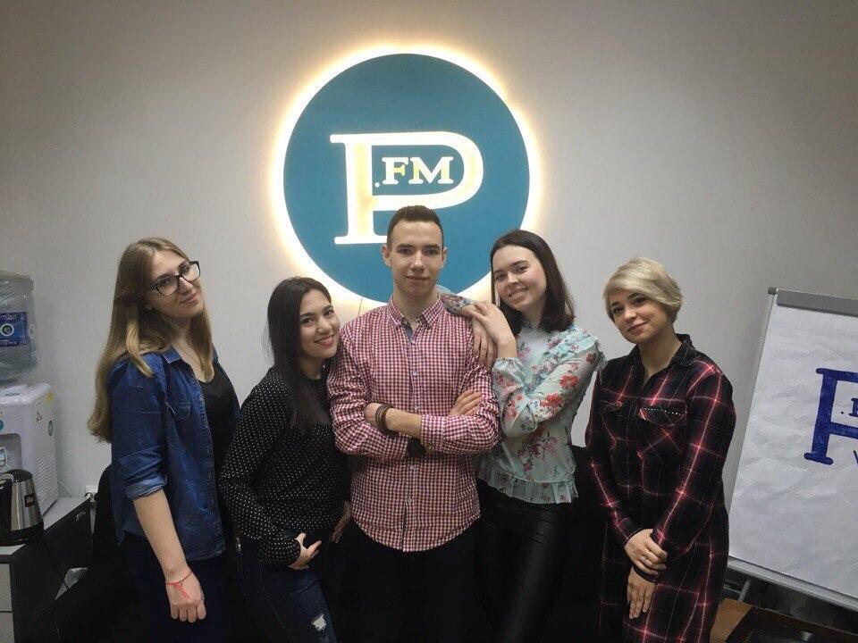 7 апреля наши координаторы и организаторы ходили на прямой эфир студенческого радио P.fm.