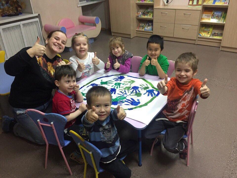 Последний день осени вместе с воспитанниками социального детского сада